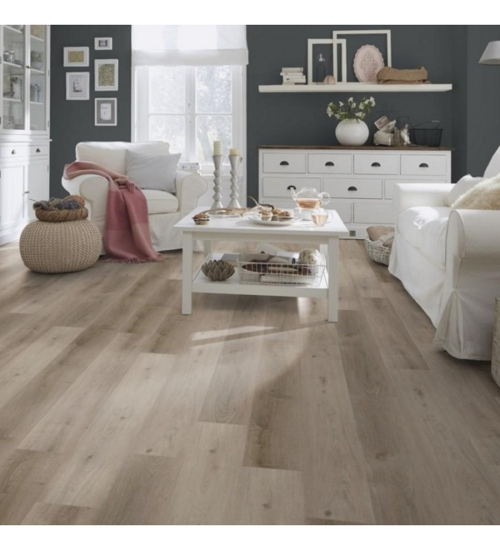 Виниловый пол Wineo 400 DB Wood Grace Oak Smooth