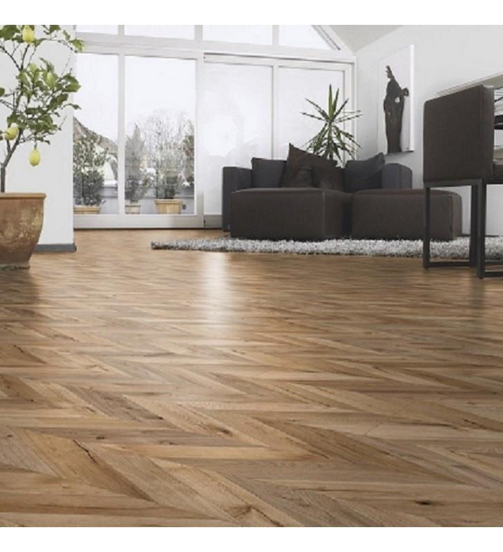 Ламинат Natural Touch Wide Plank(Fishbone)4V Oak FORTRESS ROCHESTA