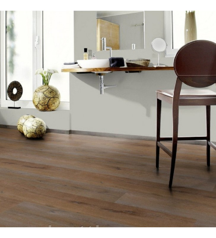 Виниловый пол Wineo 400 DB Wood XL Intuition Oak Brown