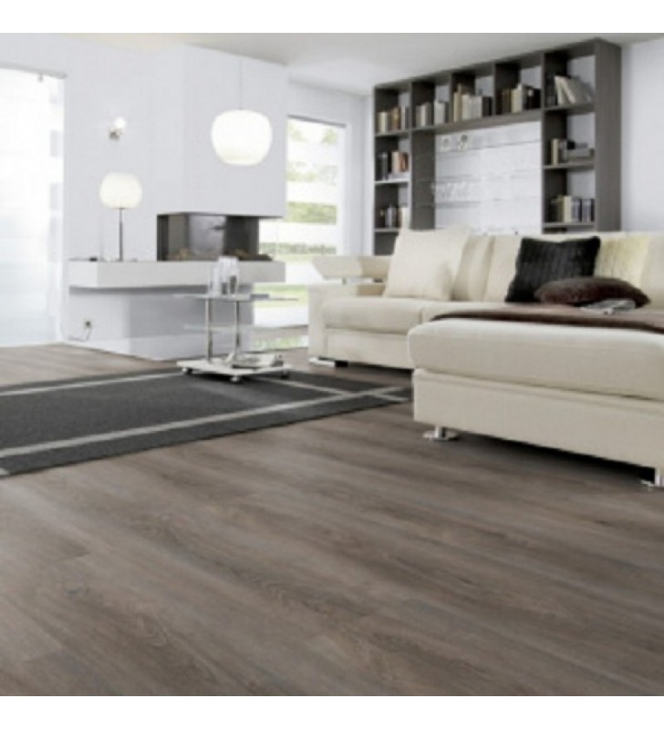 Виниловый пол Wineo 400 DB Wood XL Valour Oak Smokey
