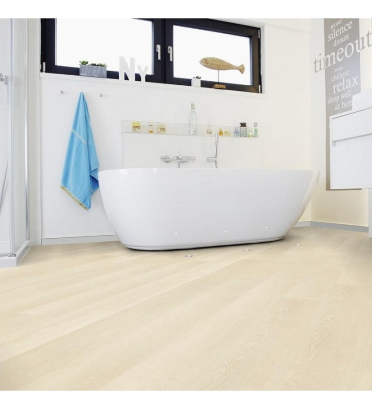 Виниловый пол Wineo 400 DB Wood Inspiration Oak Clear
