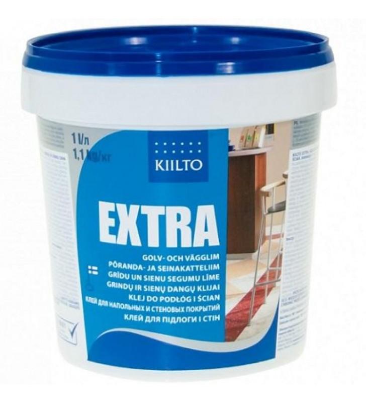 Kiilto Extra клей для пола и стен 1,1 кг/л